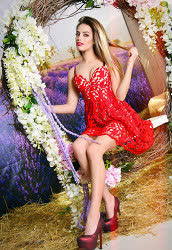 A photo of a hot bride Anna from Kharkiv