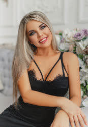 Delightful a photo of Yanina from Kharkiv, 31 yo
