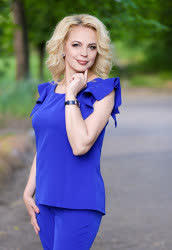 A a photo of Lilya from Kostiantynivka, 47 yo