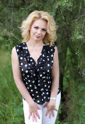 Delightful a photo of Lilya from Kostiantynivka, 47 yo