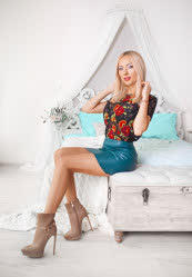 Delightful a photo of Anna from Kharkiv