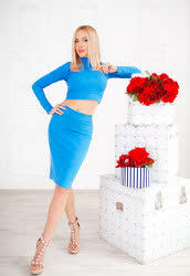 We invite you to browse photo gallery of Anna from Kharkiv