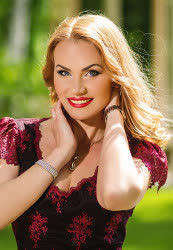 A photo of a hot bride Yana from Kharkiv